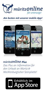 müritzonline App für unterwegs